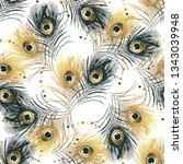 Seamless Pattern From Golden...