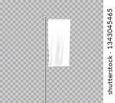 realistic white advertising... | Shutterstock .eps vector #1343045465