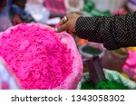 hand checking quality and... | Shutterstock . vector #1343058302