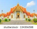 buddhist church at wat... | Shutterstock . vector #134306588