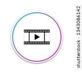 play video icon isolated on...