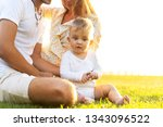 happy family on tropical island ...   Shutterstock . vector #1343096522