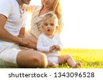 happy family on tropical island ...   Shutterstock . vector #1343096528