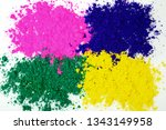 colors of indian festival holi  ... | Shutterstock . vector #1343149958