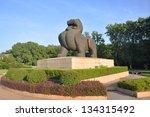bixie is the symbol of nanjing... | Shutterstock . vector #134315492