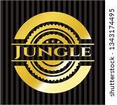 jungle shiny emblem | Shutterstock .eps vector #1343174495