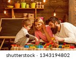 private lesson concept. child... | Shutterstock . vector #1343194802