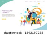 Photography Courses Vector...