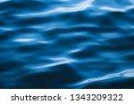blue sea wave ripple curl water ...   Shutterstock . vector #1343209322