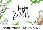 vector illustration of easter... | Shutterstock .eps vector #1343226368