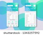 smartphone widjet mobile app...