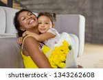 be with me. happy international ... | Shutterstock . vector #1343262608