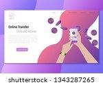 online transfer vector...