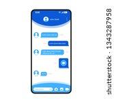 instant messages app smartphone ...