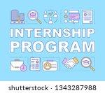 internship program word...