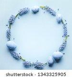 Grape Hyacinth Flower Easter Eggs - Fine Art prints