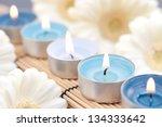 wellness  candles | Shutterstock . vector #134333642