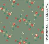 abstract vector background.... | Shutterstock .eps vector #1343383742