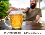 drinking alcohol including beer.... | Shutterstock . vector #1343386772