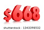668  six hundred sixty eight... | Shutterstock . vector #1343398532