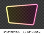 bright yellow with pink... | Shutterstock .eps vector #1343402552