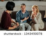 talking about themselves.... | Shutterstock . vector #1343450078