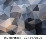 vector background from polygons ... | Shutterstock .eps vector #1343470808