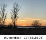 sundown over r gen  | Shutterstock . vector #1343518805