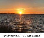 sundown over r gen  | Shutterstock . vector #1343518865