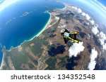 Skydive Wing Suit Over...