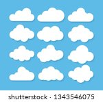 Clouds Icon  Vector...