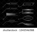 vector design elements ...   Shutterstock .eps vector #1343546588