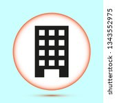 vector building icon | Shutterstock .eps vector #1343552975