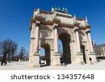 paris  france   march 7... | Shutterstock . vector #134357648