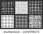 painted patterns. seamless... | Shutterstock .eps vector #1343598272