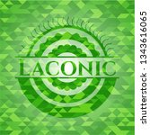 laconic realistic green mosaic... | Shutterstock .eps vector #1343616065