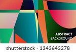 modern geometric abstract... | Shutterstock .eps vector #1343643278