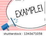 conceptual hand writing showing ... | Shutterstock . vector #1343671058