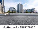 panoramic skyline and modern... | Shutterstock . vector #1343697692