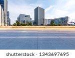 panoramic skyline and modern... | Shutterstock . vector #1343697695
