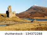Ardvreck Castle Ruin And The...