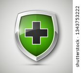 medical health protection... | Shutterstock . vector #1343753222