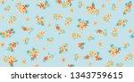 seamless pretty pattern in... | Shutterstock .eps vector #1343759615