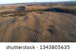 aerial view of birdwatcher's... | Shutterstock . vector #1343805635