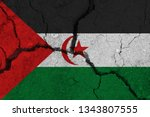 sahrawi arab democratic... | Shutterstock . vector #1343807555