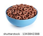 Bowl With Chocolate Corn Rings...