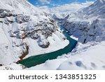 Indus River In Hemis Np  Ladak...