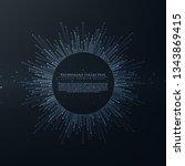 technology futuristic internet... | Shutterstock .eps vector #1343869415