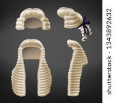 long and short 18th century men ... | Shutterstock .eps vector #1343892632