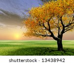 autumn scenery | Shutterstock . vector #13438942